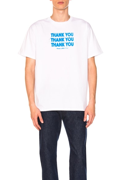 Regular Fit Thank You Shirt