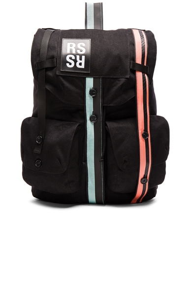 Raf Simons Backpack in Black