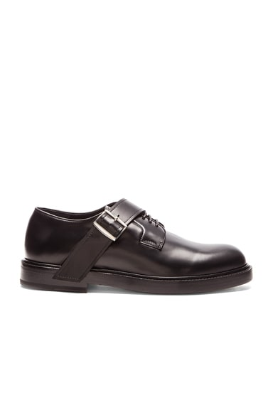 Thick Sole Buckle Strap Shoe