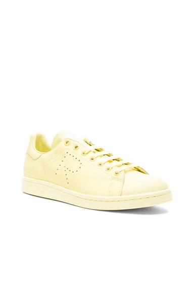 Raf Simons x Adidas Stan Smith in Blush Yellow