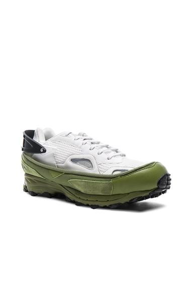 Raf Simons x Adidas Response Trail 2 in Vintage White, Core Black & Silver