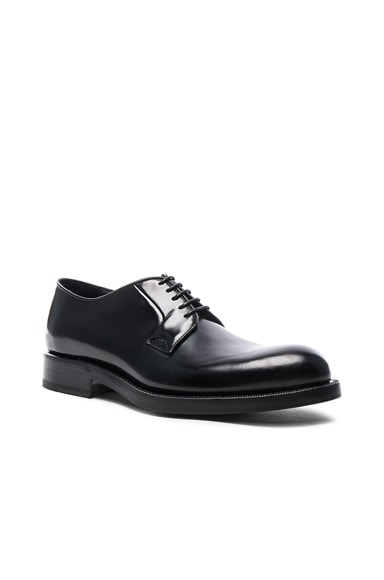 Raf Simons Leather Classic Shoes in Black
