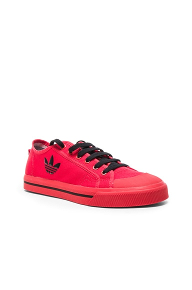 Raf Simons x Adidas Matrix Spirit Low in Tomato & Black