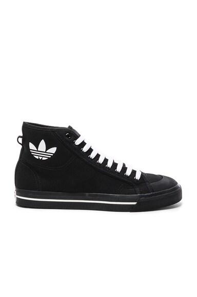 x Adidas Canvas Matrix Spirit High Sneakers
