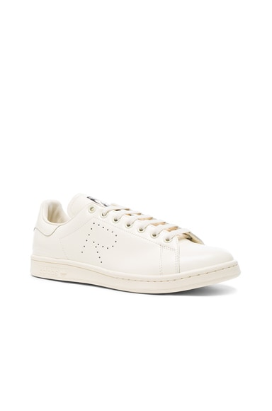 Raf Simons x Adidas Stan Smith in Cream White
