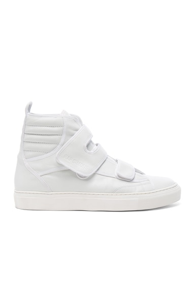 High Top Velcro Sneakers