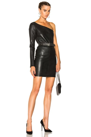 Diana Leather Dress