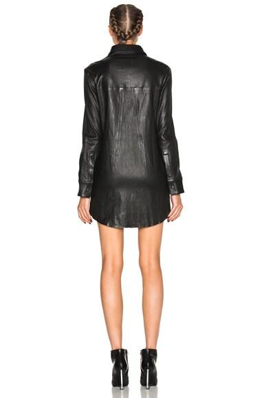 Genevieve Leather Dress