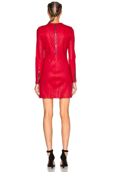 Yves Leather Dress