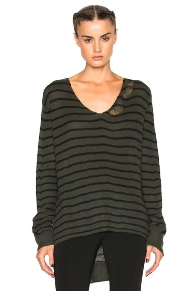 RtA Camille Sweater in Unit Stripe