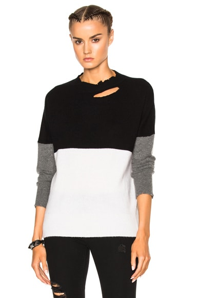 RtA Justine Sweater in Pure Block