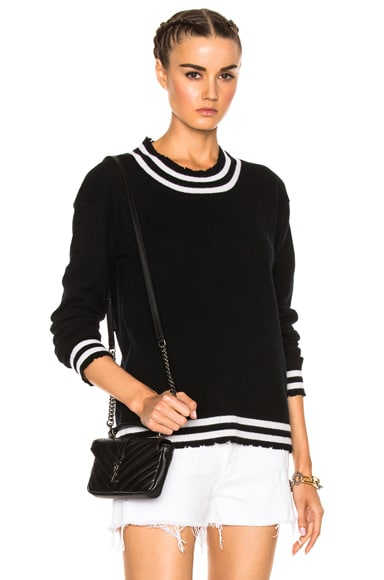 RtA Charlotte Sweater in Noir