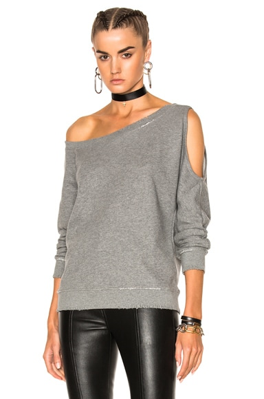 RtA Willow Sweatshirt in Iron