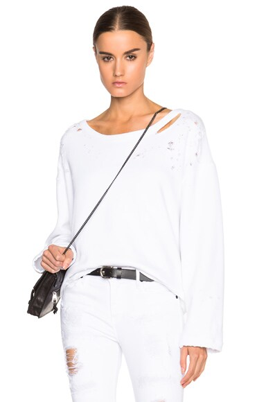 RtA Beal Sweatshirt in Powder