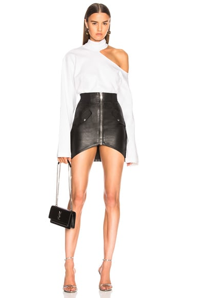 Isla Leather Skirt