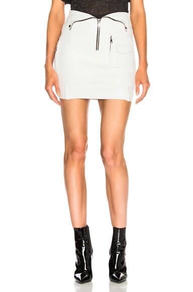 Gisele Leather Skirt