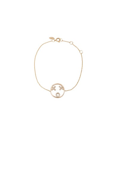Ruifier 9 Karat XOXO Bracelet in Yellow Gold