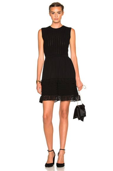 Knit Ruffle Dress