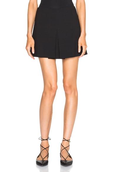 Red Valentino Mini Skirt in Black