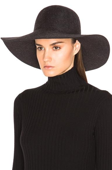 Fur Felt Floppy Hat