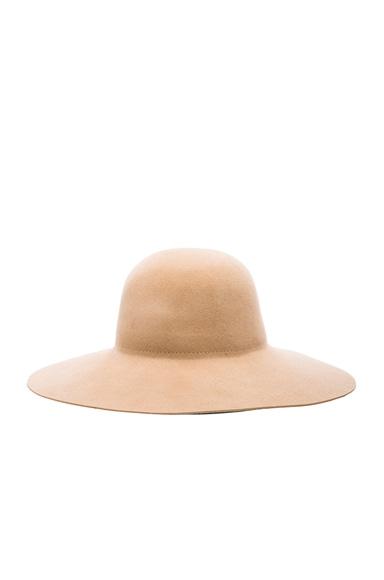 Wool Suede Hat