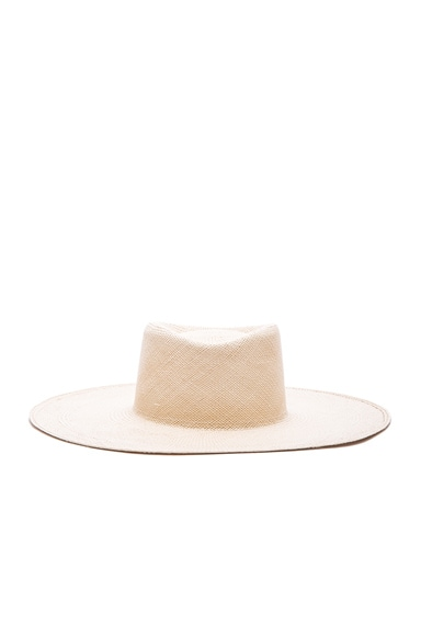 Ryan Roche Hat in Natural