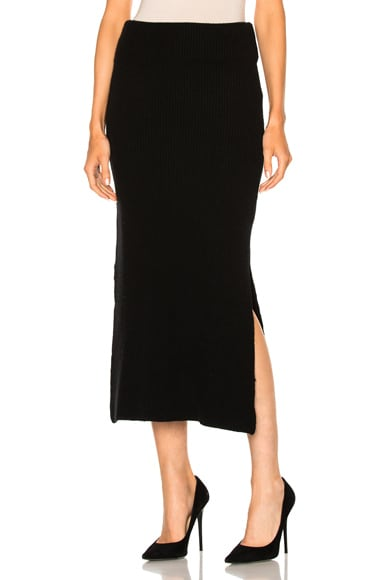 Ryan Roche FWRD Exclusive Maxi Skirt in Black