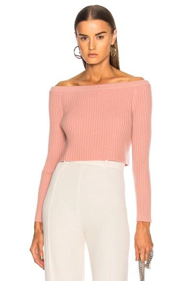 Maja Off Shoulder Sweater