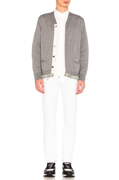Cotton Cashmere Knit Cardigan