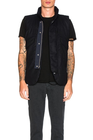 Sacai Vest in Navy