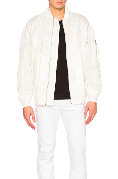 Sacai MA1 Blouson in Off White