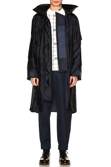 Silk Grid Coat