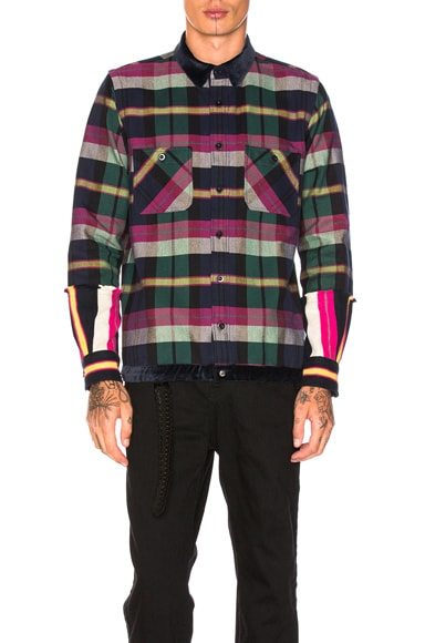 Double Faced Flannel Shirt