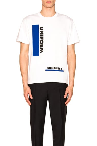 Uniform & Conquest Tee