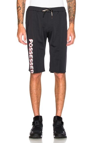 Satisfy Warm Up Shorts in Black