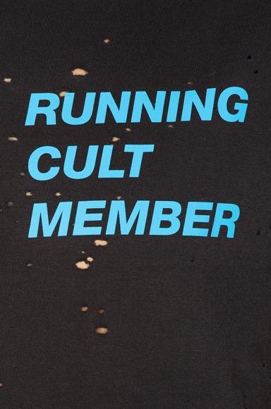 Cult Moth Eaten Sleeveless Tee