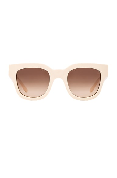 Sun Buddies x Altewaisaome Type 05 Sunglasses in Cream
