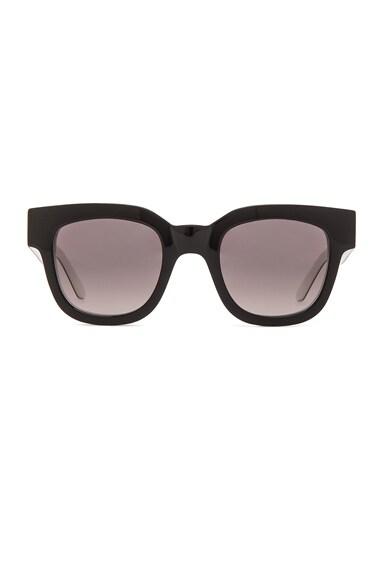 Sun Buddies x Altewaisaome Type 05 Sunglasses in Triple Black