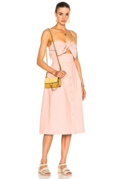 Tie Front Cutout Dress