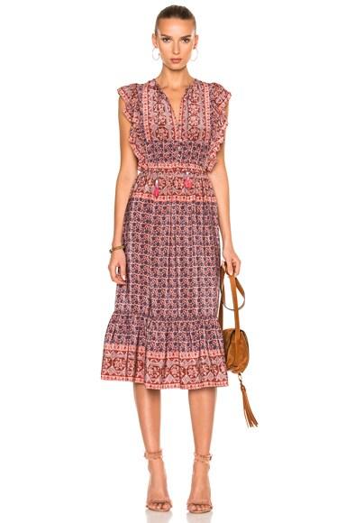 Selene Flutter Dress