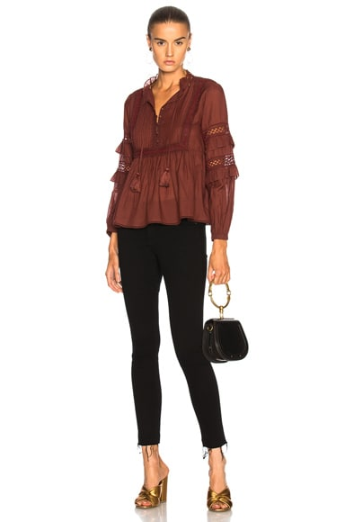 Beaded Lace Blouse