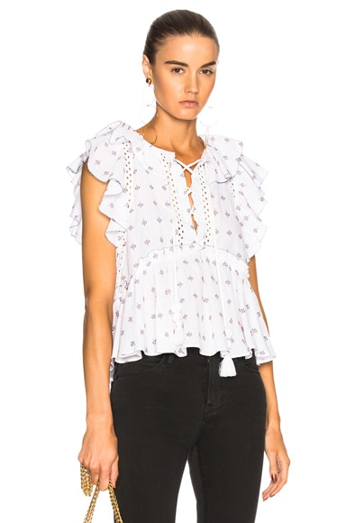 Embroidery Flutter Tank
