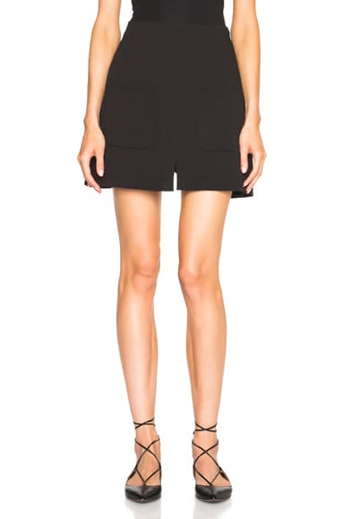 See By Chloe Front Pocket Skirt in Black