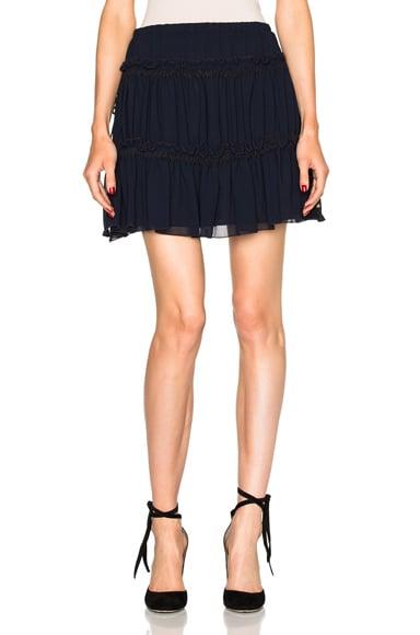See By Chloe Mini Skirt in Dark Navy