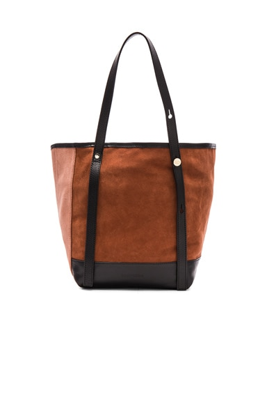 See By Chloe Tote in Chocolate Brown