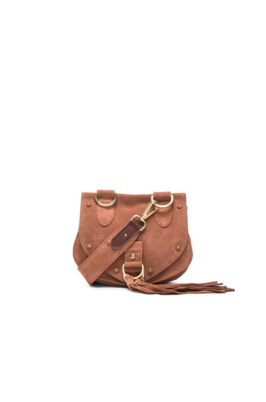 See By Chloe Mini Crossbody Bag in Terracotta