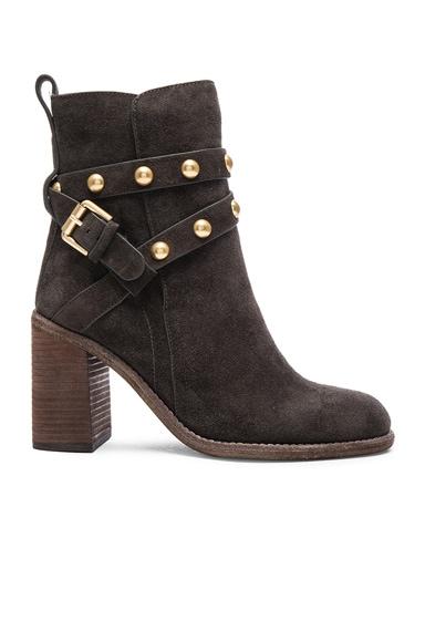 See By Chloe Suede Janis Boots in Asphalt