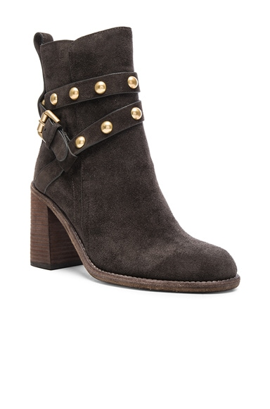 Suede Janis Boots
