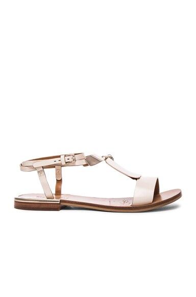 See By Chloe Leather Anita Sandals in Chantilly