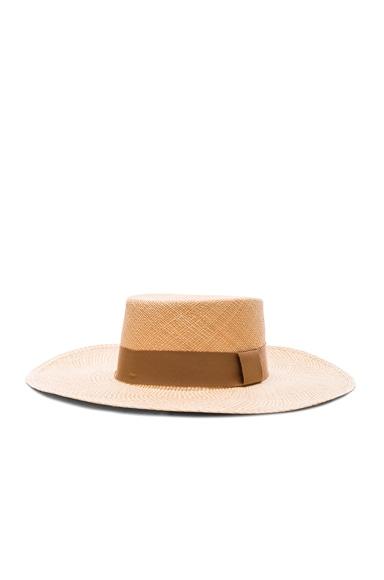 Two Tone Brim Cordovez Hat